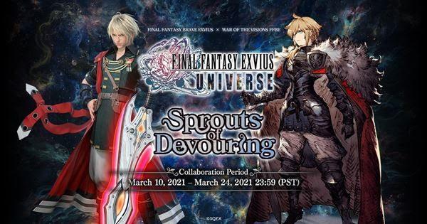 Los juegos móviles de Final Fantasy tienen un evento colaborativo