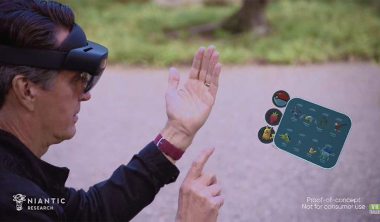 Niantic trabaja para llevar a 'Pokémon GO' a la Realidad Aumentada