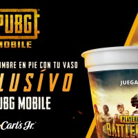 PUBG MOBILE se une con Carls Jr.