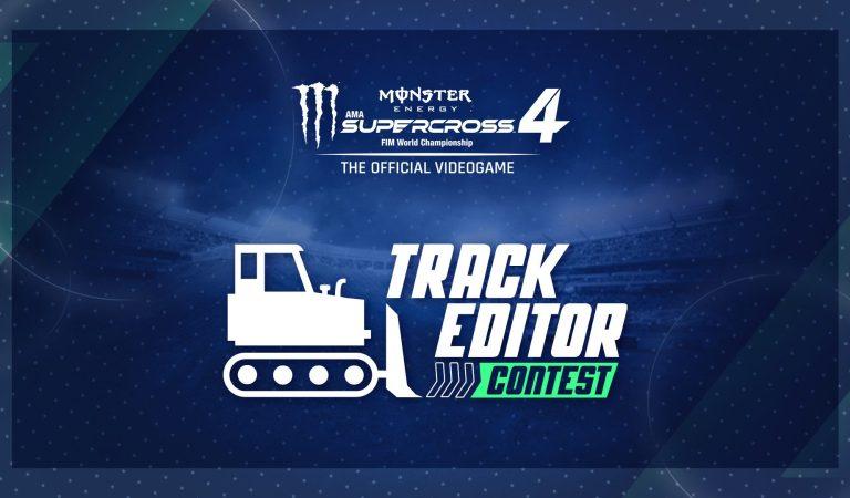 Anuncian concurso de editor de pistas en Monster Energy Supercross 4