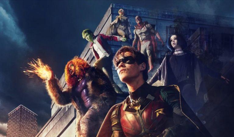 Fotos Filtradas del set de 'Titans' revelan detalles de la trama