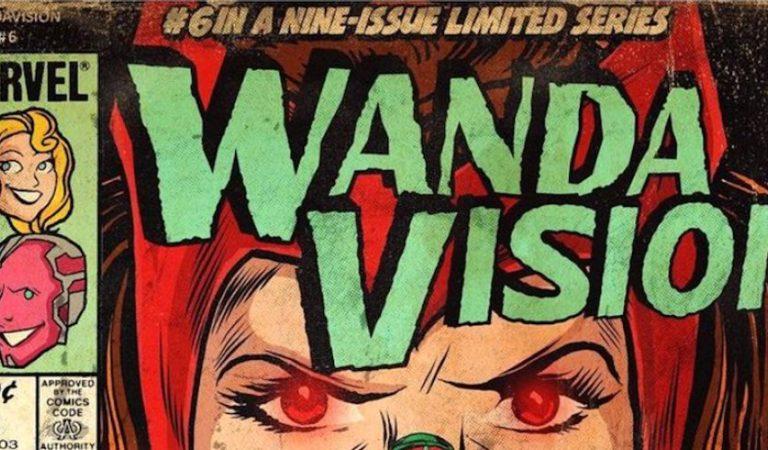 Artista crea portadas de comic basados en cada episodio de WandaVision