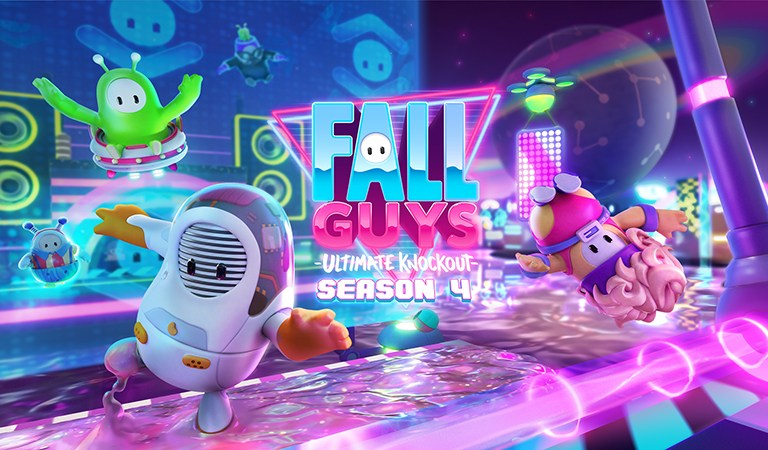 Ya está disponible la temporada 4 de 'Fall Guys: Ultimate Knockout'