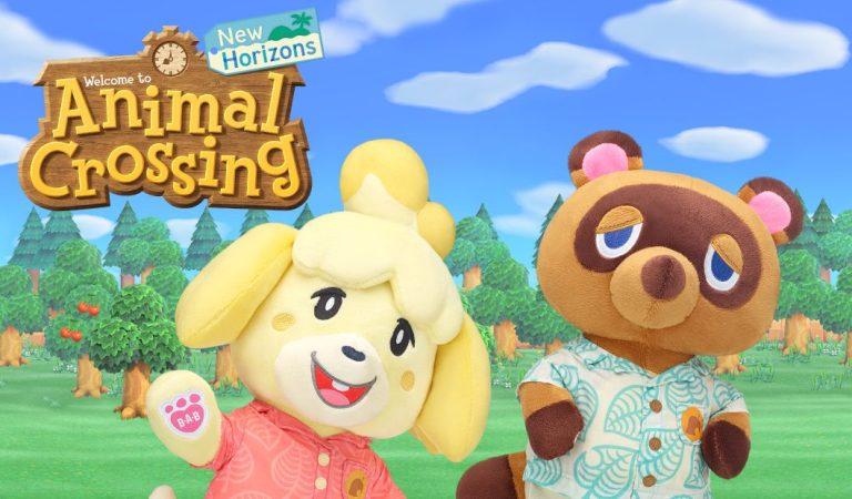 Llegará un nuevo peluche de Animal Crossing: New Horizons