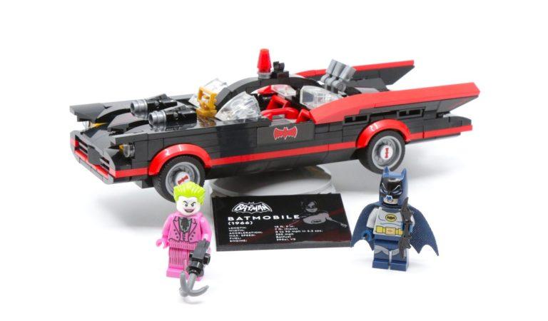 El Batimovil de Adam West se convierte en un nuevo set de LEGO