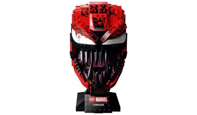 Marvel y LEGO lanzan la máscara de Carnage