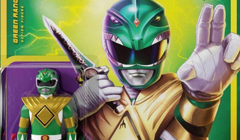 Super7 relanza las clásicas figuras de 'Mighty Morphin Power Rangers'