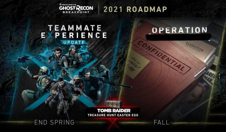 Conoce los detalles del Roadmap de 2021 para Tom Clancy's Ghost Recon Breakpoint.