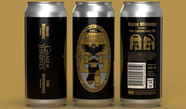 Lanzan cerveza inspirada en 'Game of Thrones' para celebrar su décimo aniversario