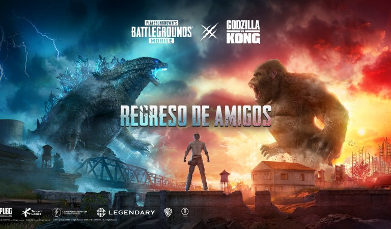 [VIDEO] Godzilla vs. Kong llegará a PUBG MOBILE