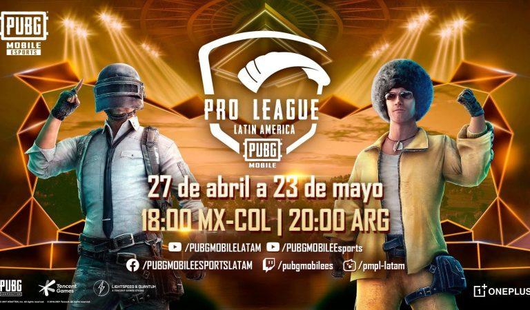 Hoy inicia PUBG MOBILE Pro League LATAM