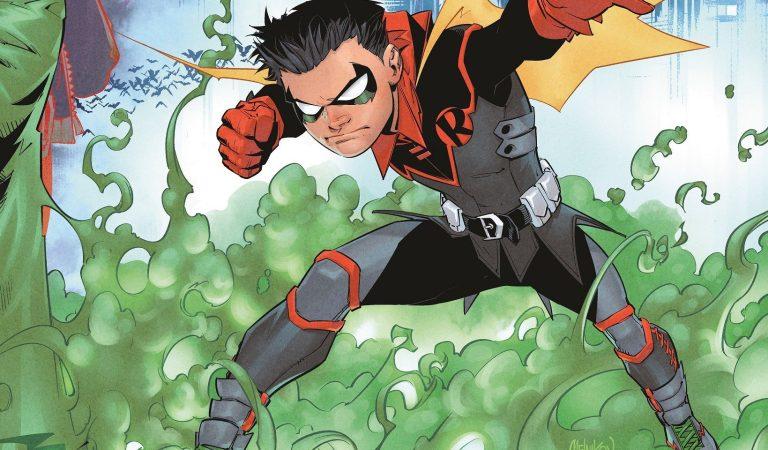 Damian Wayne demuestra sus habilidades en el nuevo cómic de 'Robin'