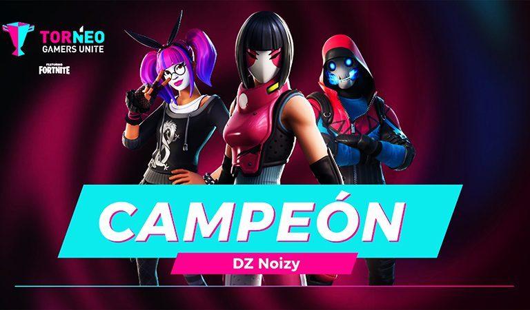 Conoce a los ganadores del Torneo Gamers Unite de Fortnite