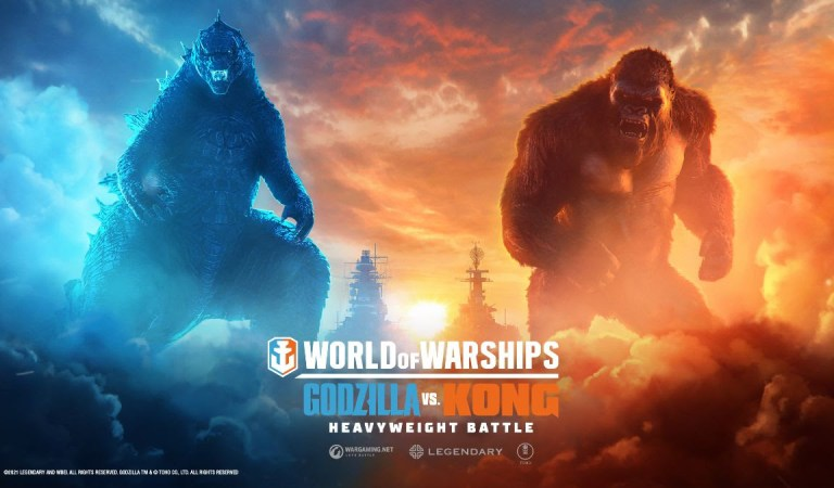 Godzilla y Kong lucharán por supremacía en 'World of Warships'
