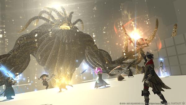 El parche 5.5 de 'Final Fantasy XIV Online' llega hoy con la beta para PlayStation 5