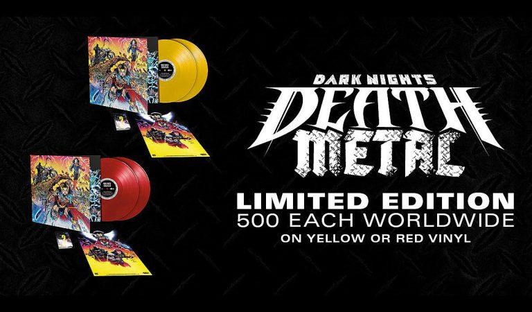 DC Comics lanzará vinyl limitado de 'Dark Nights: Death Metal Soundtrack'