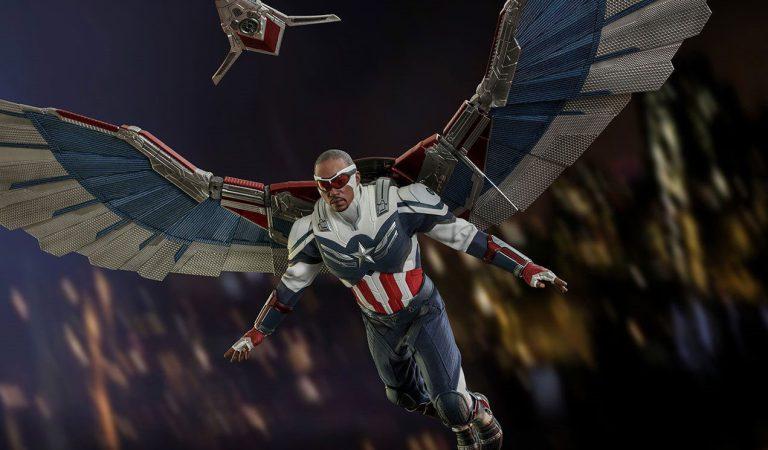 El Capitán América de Sam Wilson hace su debut en Hot Toys