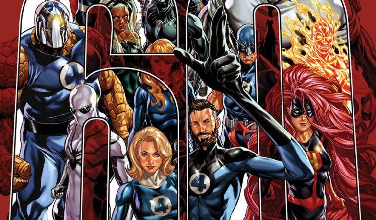 John Romita Jr. llega a Marvel para el 60 aniversario de 'Los Cuatro Fantásticos'