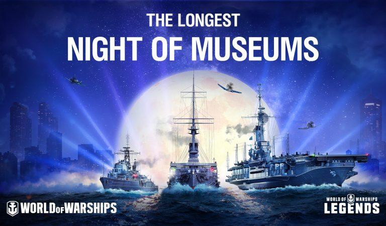World of Warships anuncia un evento gratuito «La Larga Noche De Los Museos»