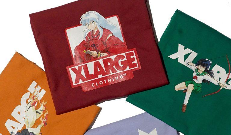 XLARGE presenta su nueva colaboración con el clásico anime de Inuyasha
