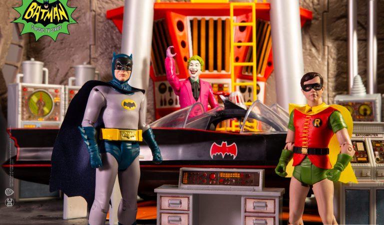 McFarlane anuncia línea de figuras de la serie de Batman de los 60