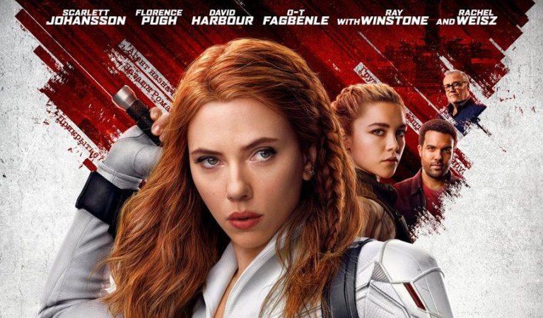 Checa el póster final de la película Black Widow