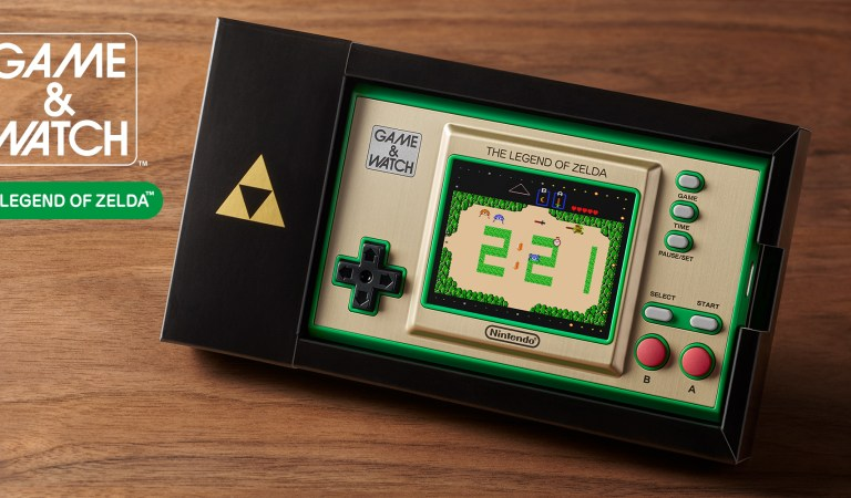 Lanzarán un Game & Watch de The Legend of Zelda