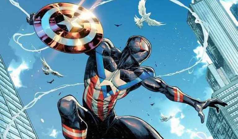 Miles Morales se convierte en el Capitán América en el próximo número
