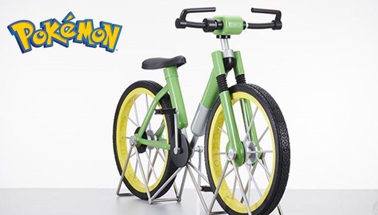 [VIDEO] Pokémon lanzará la bicicleta en tamaño real de Rojo y Verde