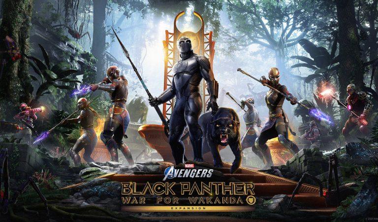 Fecha de llegada de Black Panther a Marvel's Avengers