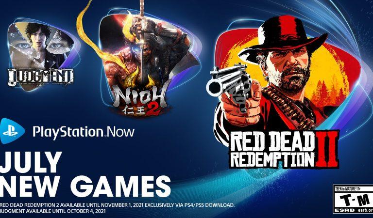 Conoce los juegos de julio en PlayStation Now
