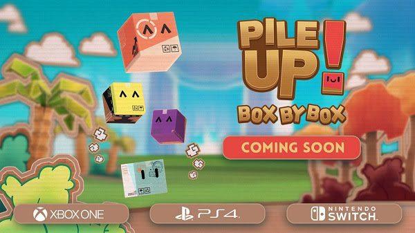 [VIDEO] Pile Up! Box by Box!  llegará a consolas