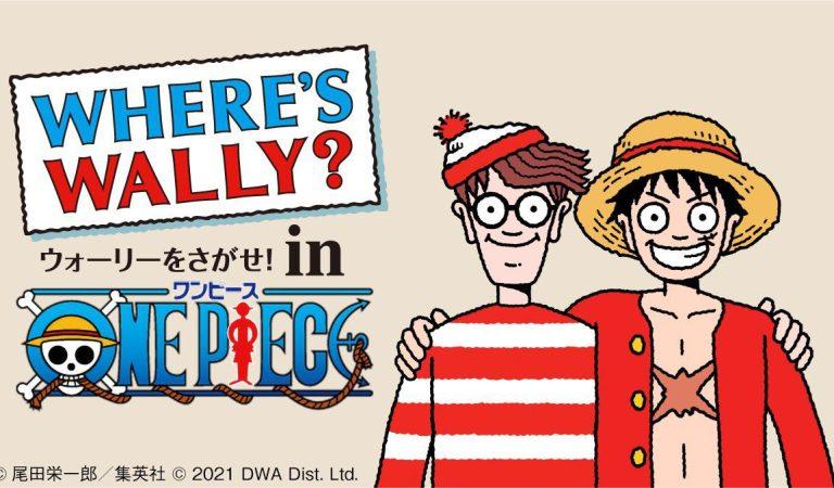 One Piece tendrá un crossover con «¿Dónde está Wally?»