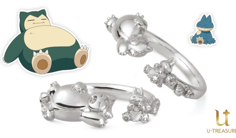 Lanzan anillos coleccionables de Snorlax y Muchlax