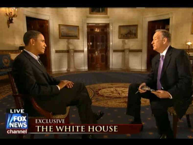 Fox News' Bill O'Reilly Interviews The Prince of Unaccountability (Obama)