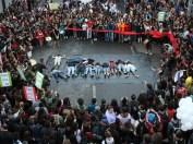 Protesto contra ação policial que deixou dez mortos no Complexo da Maré Crédito: Marcos de Paula / Estadão Conteúdo