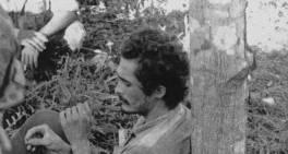 José Genoino após ser preso na guerrilha do Araguaia.