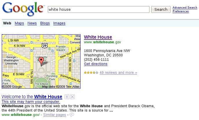 googleharm_whitehouse