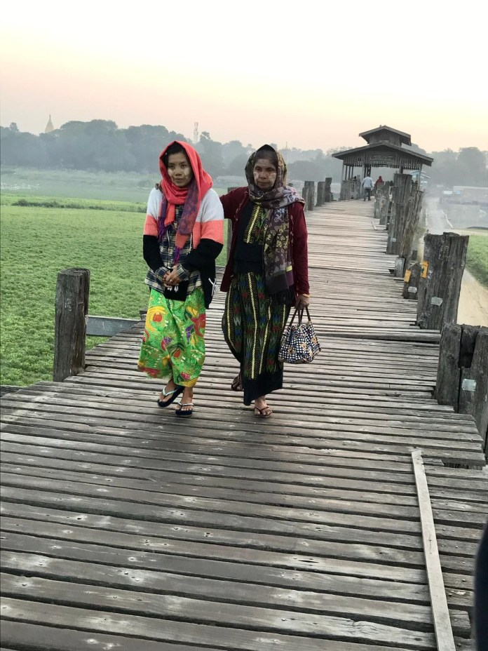 29_Mandalay_ponte U Bein maior ponte de teca do mundo - 1,2km_Catarina_Barata