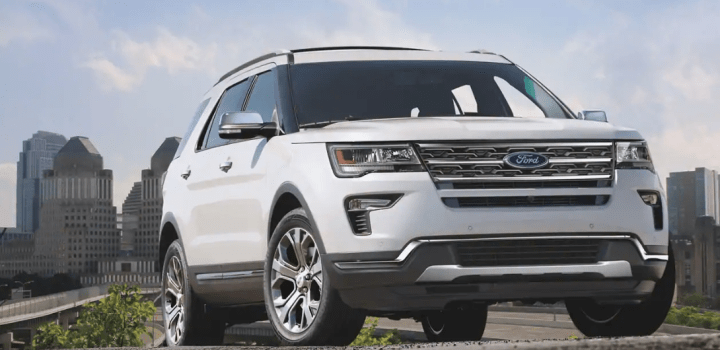 2019 Ford Explorer lease special