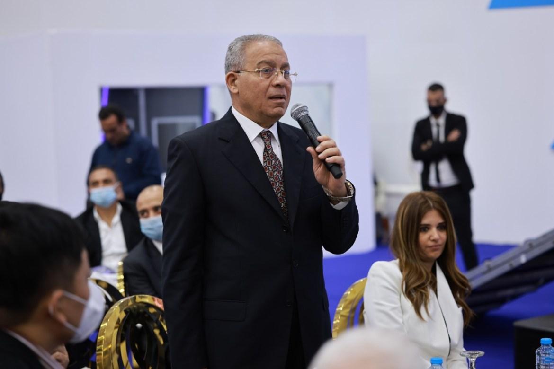 عبد الحميد مصطفي رئيس الشركة الوطنية للاتصالات