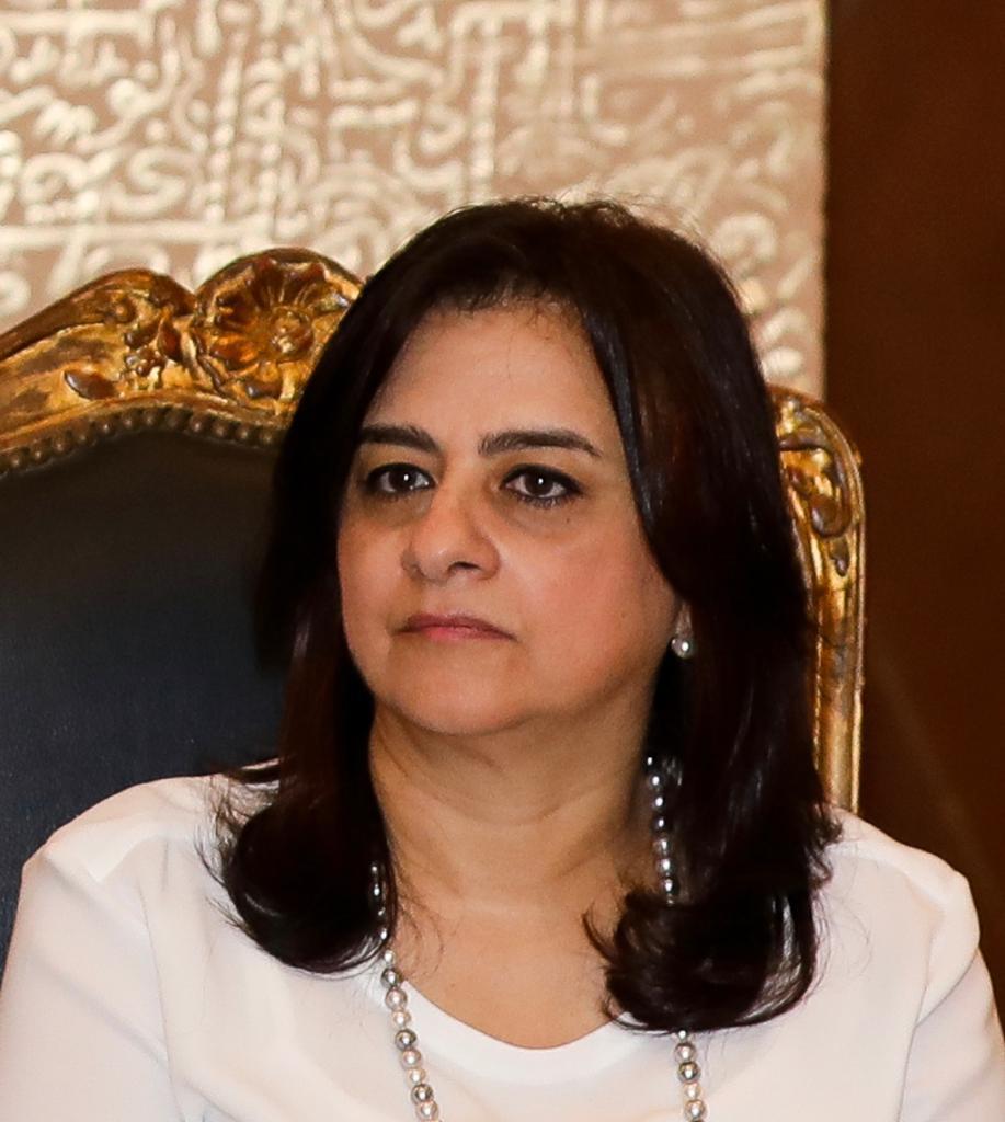 أماني شمس الدين وكيل أول المحافظ لقطاع العمليات المصرفية ونظم الدفع