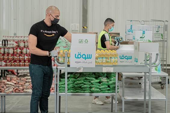 أمازون تساهم بمليون وجبة طعام حول العالم العربي خلال شهر رمضان