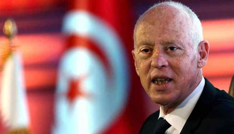 رئيس تونس قيس بن سعيد