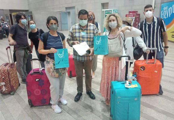 التنشيط السياحي بالأقصر يستقبل أولى رحلات الطيران العارض من فرنسا