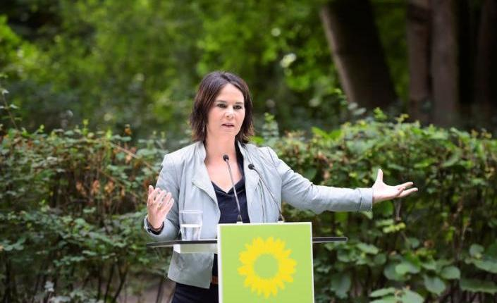 مرشحة حزب الخضر لمنصب المستشار الالماني