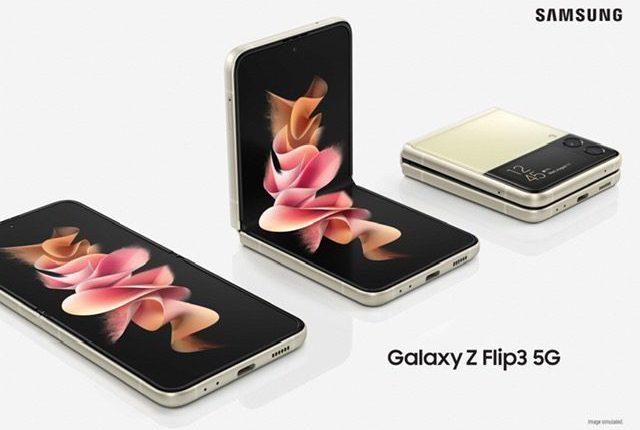 هاتفي سامسونج من الجيل الخامس Z Fold3 و Z Flip3