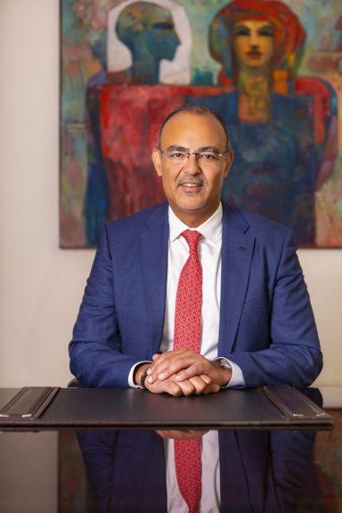 محمد سلطان، الرئيس التنفيذي لقطاع العمليات بالبنك التجاري الدولي مصر،