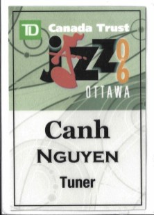 Ottawa Jazz Festival Pass 2006