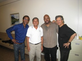 Brian Blade, Canh, Christian McBride, Chick Corea, Ottawa music tuning